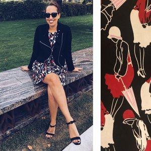 "Brooks Brothers Red Fleece ""Flapper"" Silk Dress"